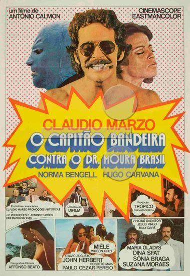 Resultado de imagem para O+Capitão+Bandeira+Contra+O+Dr.+Moura+Brasil